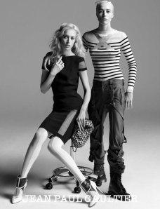 Com Raquel Zimmerman em sua versão masculina e feminina